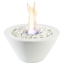 Fun Flames Bowl wei�e Keramik